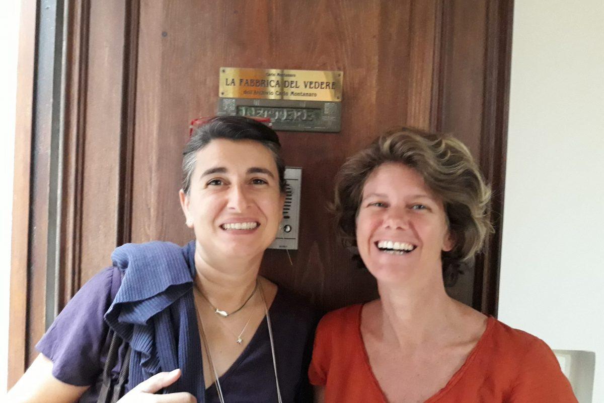 Francisca Parrino e Barbara Carneglia