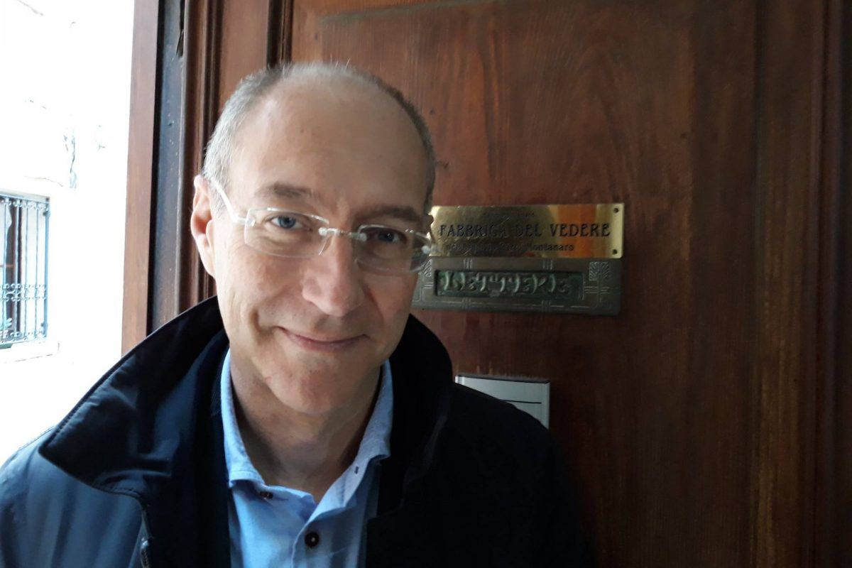 Luca Colombo, del Telegiornale della Sede Rai per il Veneto